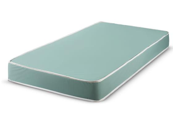 light blue mattress